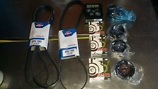 Commodore VT VX VY VZ V8 GEN 3 LS1 2 Drive Belts and 4 pulleys Kit . Best Value