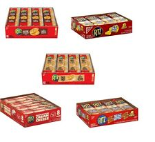 Ritz Sandwich Crackers Cheese Bacon Peanut Butter Pick your Flavor ! Easy Ship