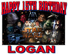 NEW PERSONALIZED CUSTOM STAR WARS BIRTHDAY T SHIRT PARTY FAVOR GIFT