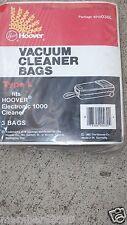 Vintage Genuine Hoover Electronic 1000 Type L Vacuum Bags  3 pack  4010030L