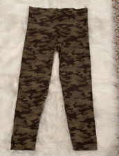 Spanx Look At Me Now Camo Seamless Cropped Leggings size L