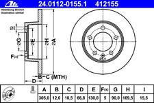 Bremsscheibe (2 Stück) - ATE 24.0112-0155.1