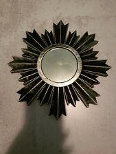 Mirror Decorative Mirror Black Silver Mirror (Plastic)
