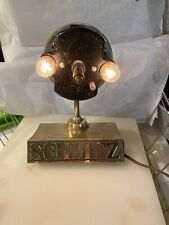 Vintage 72 Schlitz Milwaukee Beer Motion Clock 3-Sided Bar Lamp Light Parts Only