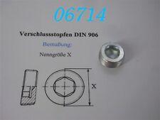 VERSCHLUSS-SCHRAUBE  M 24 x 1,5  -DIN 906-