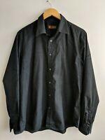 Topman Black Shirt Size XL <KK406