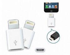 Adaptador Conversor Micro USB a Lightning 8 pin para iPhone 7 plus 6 5 5s 5c 6s