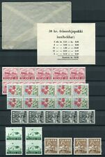Iceland Booklet 1958 30 kr Stamp Package Original Table of Contents Envelope MNH