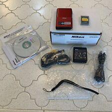 Compact Nikon CoolPix S 80 Digital Camera w/ Accessories Refurbished By Nikon