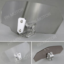 Clip on Windshield High Windscreen Spoiler For BMW R1100S All Years Light Gray