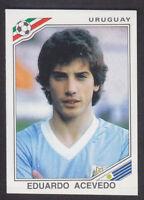 Panini - Mexico 86 World Cup - # 316 Eduardo Acevedo - Uruguay