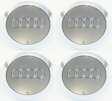 "4Pcs OEM Wheel Center Cap 4E0601165A For AUDI A8 QUATTR 18"" 19"" 12 Spokes Wheel"