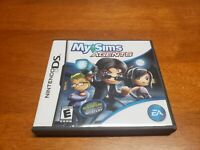 My Sims Agents (Nintendo DS, 2009) CIB Complete TESTED Fast Shipping