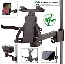 K&M Tablet PC Holder with Clamp-On Mount For Music Stands - AUTHORIZED DEALER!