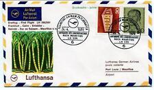 FFC 1970 Lufthansa Spec. Flight Frankfurt Cairo Nairobi Dar es Salaam Mauritius
