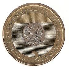 Polonia 2 Zloty 2000  bimetallico perfetto