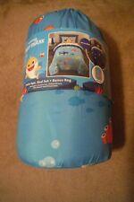Pinkfong Baby Shark TWIN 4 PIECE BED IN A BAG COMFORTER SHEET SET + BONUS BAG