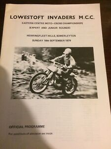 Invaders Mcc Scramble Programme 16th Sept