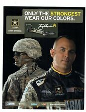 Tony Schumacher Signed Autographed Racing Photo Promotional Advertising Card #2