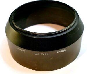 Nikon 62mm Lens Hood Shade Metal HN-23 screw in 85mm F1.8 AF Nikkor