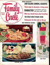 Family Circle Magazine March 1965 EX No ML 021517jhe