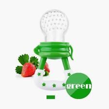 Frutas Y Verduras Chupete Alimentador Tetina Mordedor para bebé Verde GY