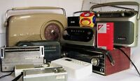 pre-owned PORTABLE RADIOS 1950/2017 ~ click on - SELECT - to browse or order