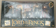 the lord of the rings toybiz action Helm's Deep Battle Set Action figures