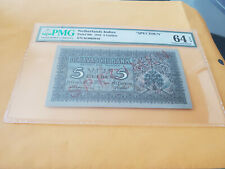 Netherland indies specimen rarely offered UNC PMG graded