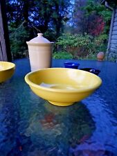 CENTER PIECE PEDESTAL BOWL sunflower yellow  FIESTA 64 OZ NEW