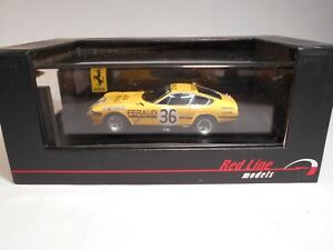 RL Models (RL080) - 1/43 - Ferrari - 365 GTB/4 - Le Mans - 1972 - Car #36 - MIB