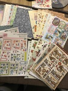 Huge Selection Crafting Papers, Stickers, Decoupage
