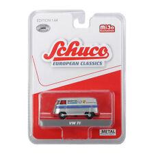 "Schuco 452018400 VW T1 Bus ""Martini Racing"" silber Maßstab 1:64 Modellauto NEU!°"