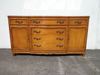 Buffet French Rway Sideboard Cabinet Hutch Neoclassical Mercury Wood Console