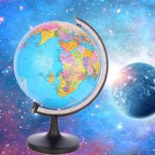 Mini Earth Globe Rotating Sphere Tellurion World Map Kids Early Educational Toy