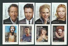 AUSTRALIA 2009 FILM LEGENDS SET OF 8 SELF ADHESIVE UNMOUNTED MINT, MNH