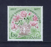 FRANCIA/FRANCE 1977 MNH SC.1536 Natl.Horticulture Society