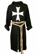New Medieval Viking Black Color Costume Reenactment Tunic For Reproductions