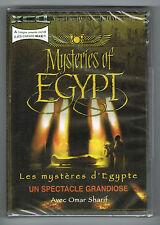 LES MYSTERES D'ÉGYPTE - OMAR SHARIF - UN SPECTACLE GRANDIOSE - DVD NTSC NEUF NEW