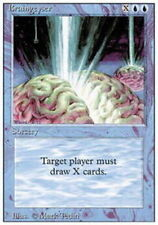 Braingeyser LP 3rd Third Edition Revised  Blue Rare MTG