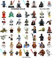 Star Wars Minifigure Lego &Custom Episode I - VI Empire Strikes Back Return Jedi