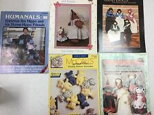 Assorted Doll Sewing Patterns