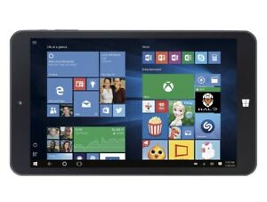 "Digiland - 8"" - Tablet And Keyboard - 32GB - Black DL808w Windows 10"