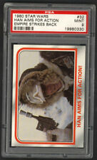 1980 Star Wars Empire Strikes Back #32 Han Solo Aims for Action! PSA 9 MINT