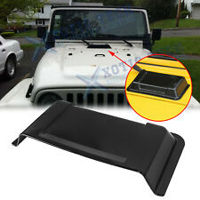 Hood Vent Cover Air Vent Scoop Accessories for Jeep Wrangler Jk Jku 2007-2017 (Fits: Jeep)