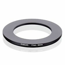 RISE(UK) 77-52MM 77 MM- 52 MM 77 to 52 Step Down Ring Filter Adapter