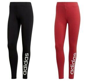 Adidas Womens Running Tights Pant Gym Yoga Training Pants Linear Bottoms