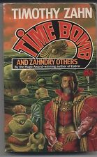 TIMOTHY ZAHN pb Time Bomb and Zahndry Others 1988 1st printing