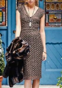 Long Tall Sally Sequin And Lace Dress