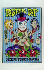 Alan Forbes Pop Poster Skull Buddah Signed Print Mint